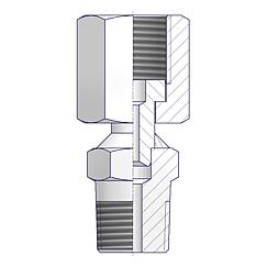 Swivel Gauge Adapters Standard
