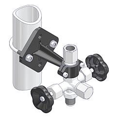 Mounting Brackets for Gauge Valves  Standard