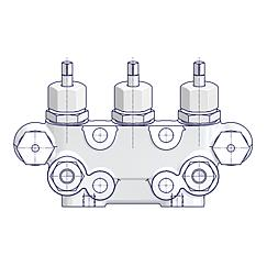 3 Valve Manifolds With Test Connection Standard 2