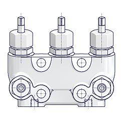 3 Valve Manifolds Without Test Connection Standard