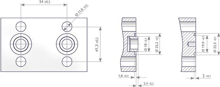 As Schneider Flanschanschl 252 Sse Ventilblock Messger 228 T